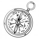 55fd69b5d4b291de285f8be4eed9ce24-compass-arrow-direction-sketch-by-vexels